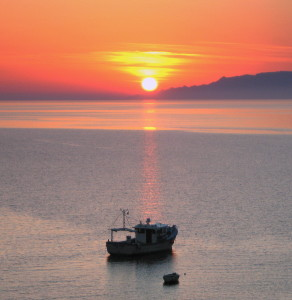 big sun set & caiki